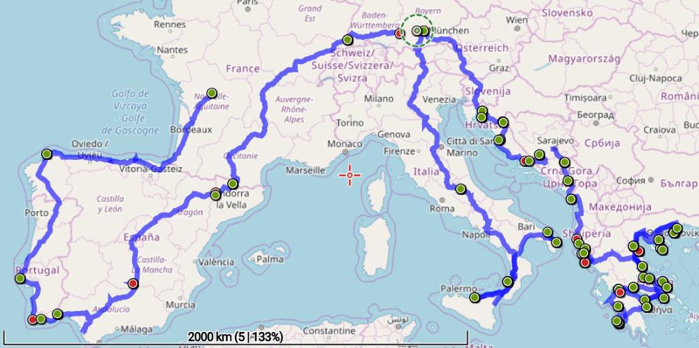 Roadtrip Europa Abenteuerreise Mit Einem Landrover Defender